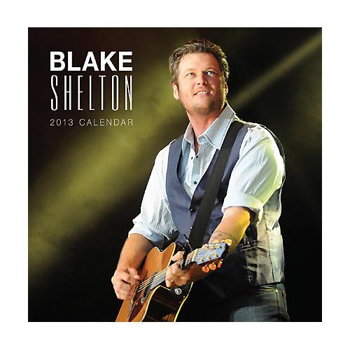 Browntrout Publishing Blake Shelton 2013 Square Calendar
