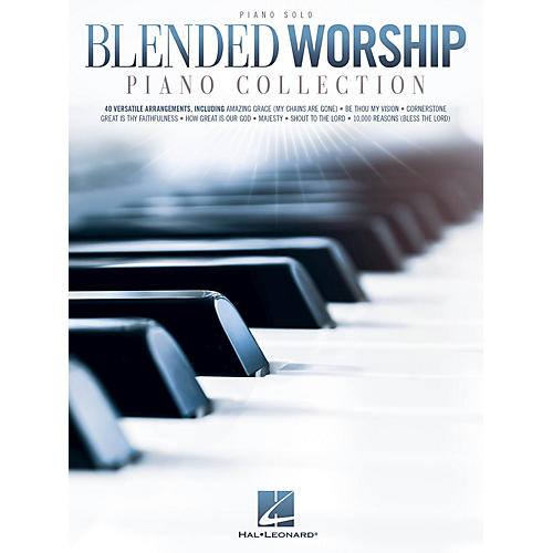 Hal Leonard Blended Worship Piano Collection Piano Solo Songbook