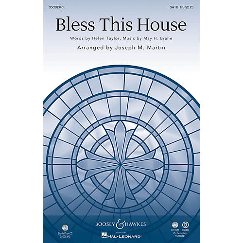 Shawnee Press Bless This House ORCHESTRA ACCOMPANIMENT Arranged by Joseph M. Martin