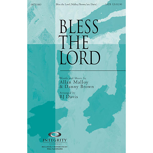 Integrity Choral Bless the Lord CD ACCOMP Arranged by BJ Davis