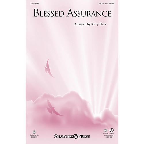 Shawnee Press Blessed Assurance (StudioTrax CD) Studiotrax CD Arranged by Kirby Shaw