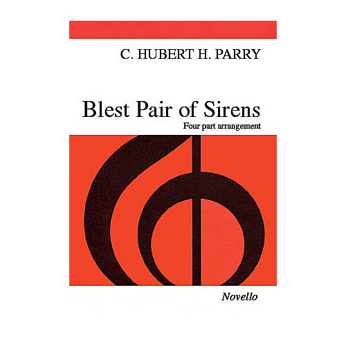 Novello Blest Pair of Sirens SATB Arranged by C.S. Lang