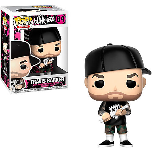Funko Blink 182 Travis Barker Pop! Vinyl Figure