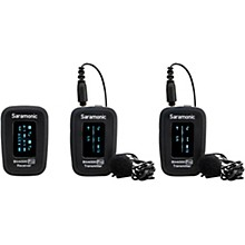 Saramonic Blink 500 Pro B2 Advanced 2.4 GHz 2-Person Wireless Clip-On Microphone System with Lavaliers