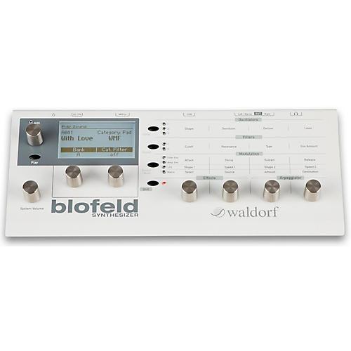 Waldorf Blofeld Desktop Synth Module Cream