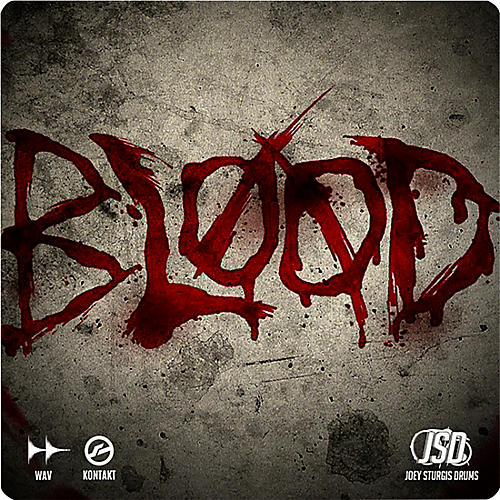 Joey Sturgis Drums Blood Series Kick Drum Sample Pack