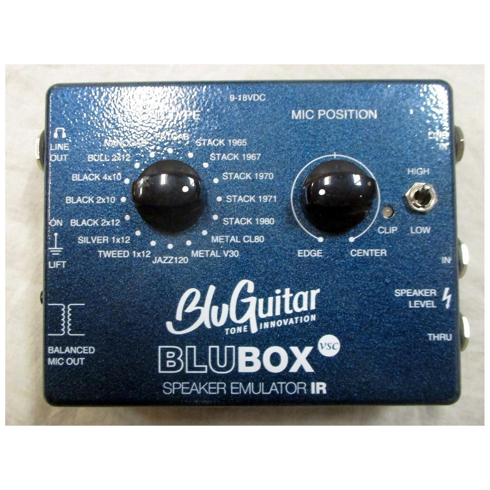 BluGuitar BluBox Speaker Emulator Pedal