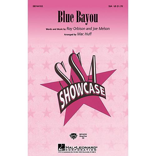 Hal Leonard Blue Bayou ShowTrax CD Arranged by Mac Huff
