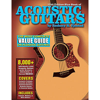 Hal Leonard Blue Book Of Acoustic Guitars - 15th Edition