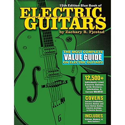 Hal Leonard Blue Book Of Electric Guitars - 15th Edition