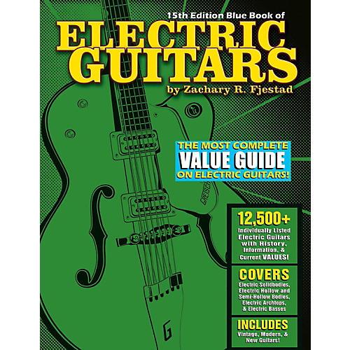 Hal Leonard Blue Book Of Electric Guitars - 15th Edition