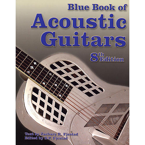 Music Sales Blue Book of Acoustic Guitars-8th Edition