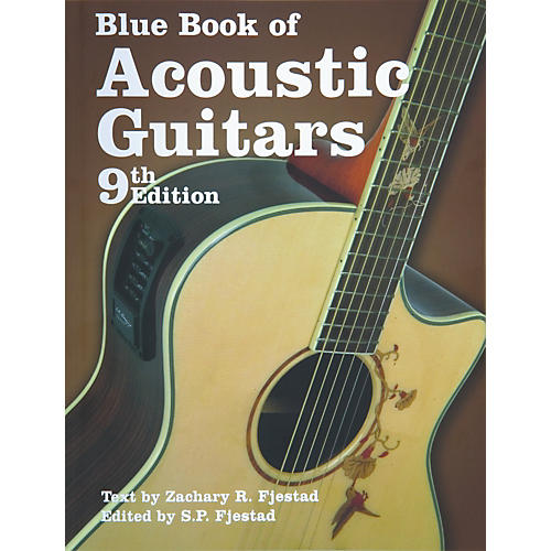 Music Sales Blue Book of Acoustic Guitars 9th Edition