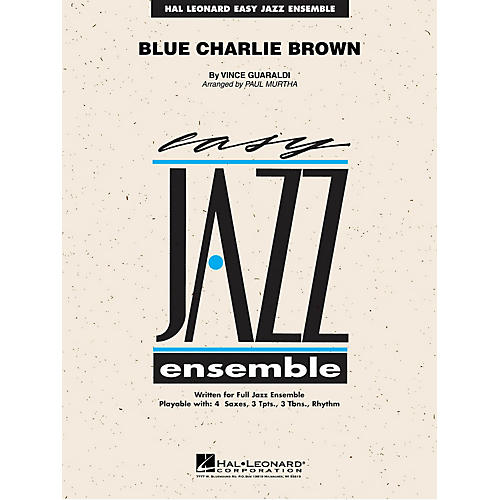 Hal Leonard Blue Charlie Brown Jazz Band Level 2 Arranged by Paul Murtha