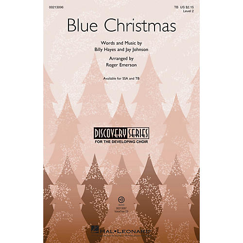Hal Leonard Blue Christmas (Discovery Level 2) TB arranged by Roger Emerson