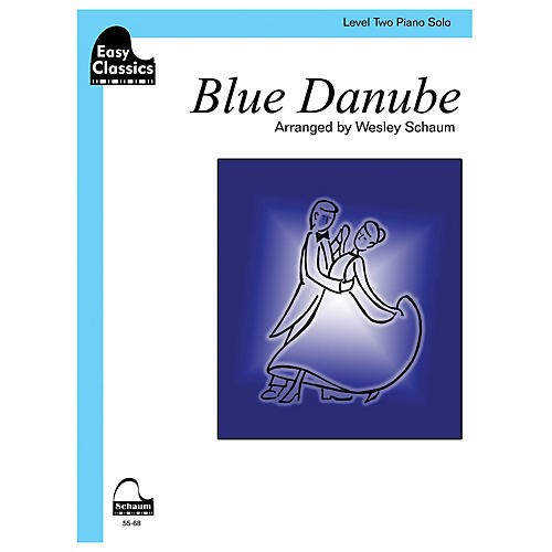 SCHAUM Blue Danube (easy) Educational Piano Series Softcover