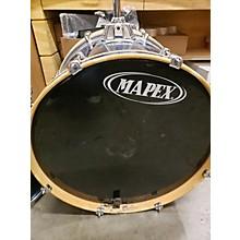 Mapex Blue Drum Set Drum Kit