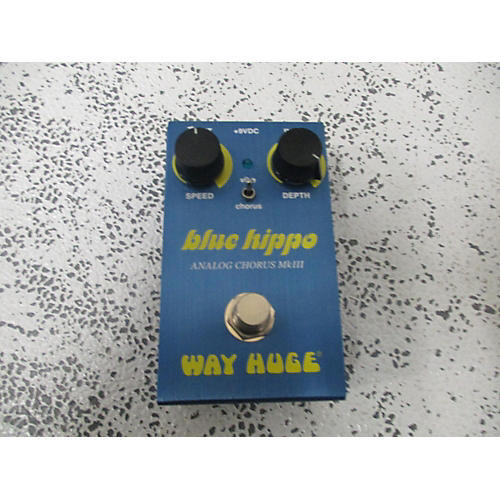 Blue Hippo Effect Pedal
