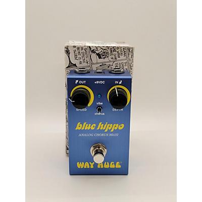 Way Huge Electronics Blue Hippo MkIII Effect Pedal