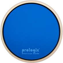 Blue Lightning Practice Pad With Rim 10 in.