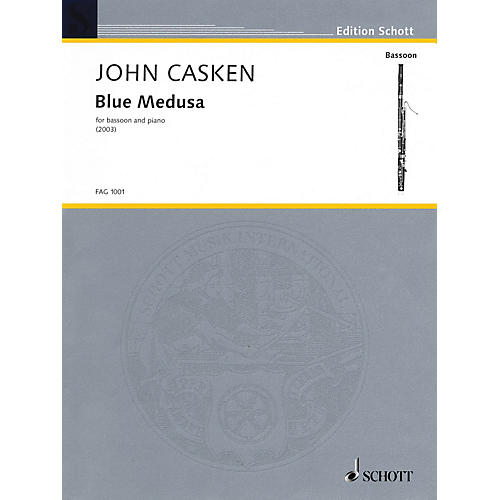 Schott Blue Medusa (Bassoon with Piano Accompaniment) Schott Series