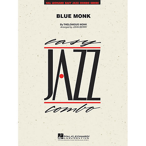 Hal Leonard Blue Monk Jazz Band Level 2 Arranged by John Berry