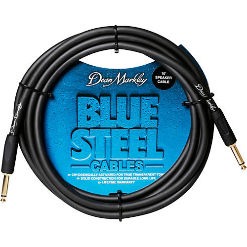 Dean Markley Blue Steel Cable - Straight To Straight