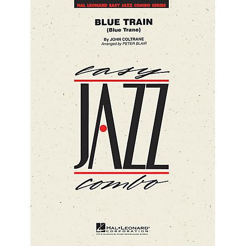 Hal Leonard Blue Train Jazz Band Level 2 Arranged by Peter Blair