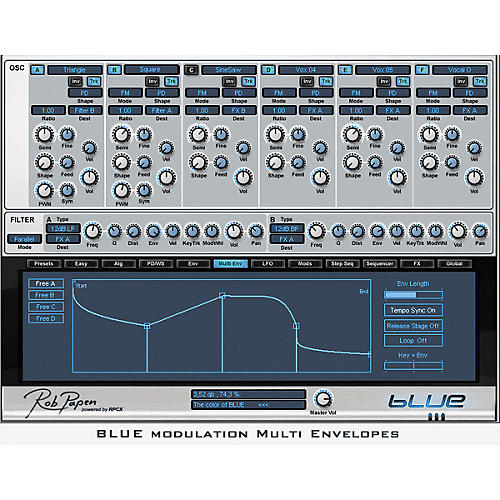 Rob Papen Blue Virtual Synth