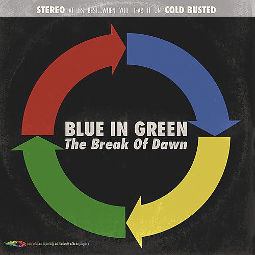 Alliance Blue in Green - Break Of Dawn