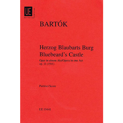 Universal Bluebeard's Castle, Op. 11 (Score) Boosey & Hawkes Scores/Books Series Composed by Béla Bartók