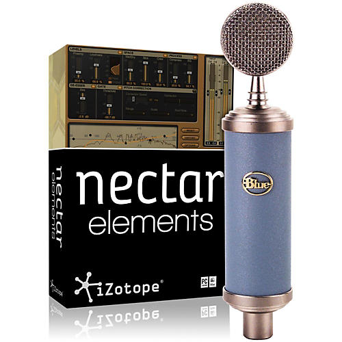 BLUE Bluebird Mic with Nectar Elements Bundle