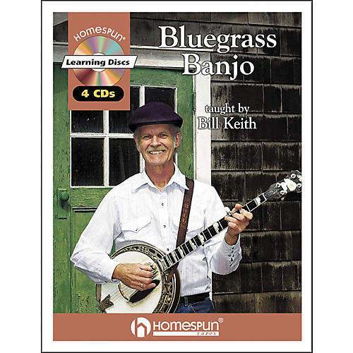Homespun Bluegrass Banjo (Book and CD Package)