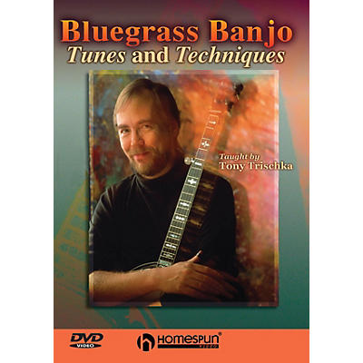 Homespun Bluegrass Banjo Tunes & Techniques DVD/Instructional/Folk Instrmt Series DVD Performed by Tony Trischka
