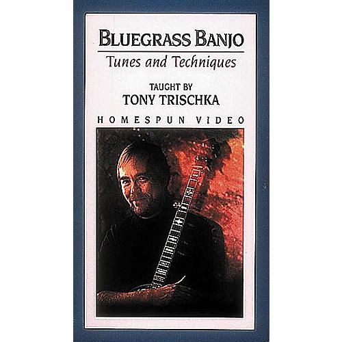Hal Leonard Bluegrass Banjo Tunes and Techniques Video