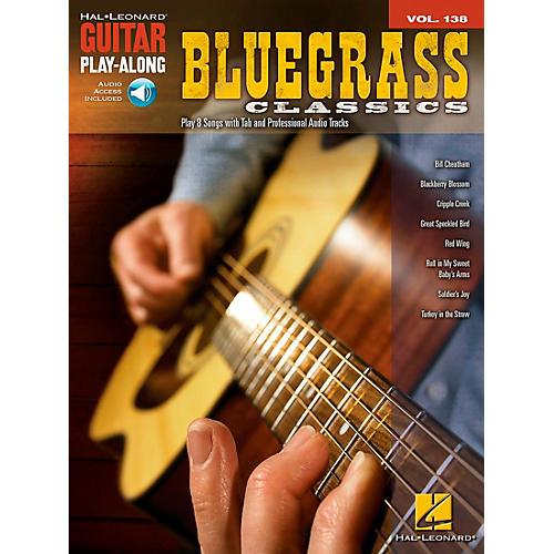 Hal Leonard Bluegrass Classics - Guitar Play-Along Volume 138 Book/CD