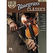 Hal Leonard Bluegrass Classics - Violin Play-Along Volume 11 (Book/CD)