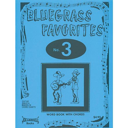Morrell Music Bluegrass Favorites Book Volume 3
