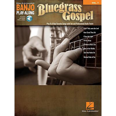 Hal Leonard Bluegrass Gospel (Banjo Play-Along Volume 7) Banjo Play Along Series Softcover Audio Online
