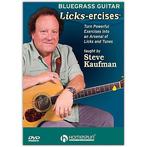 Homespun Bluegrass Guitar Licks-Ercises - DVD