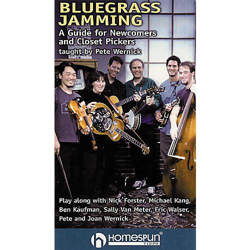 Homespun Bluegrass Jamming (VHS)