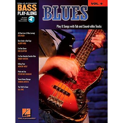 Hal Leonard Blues - Bass Play-Along Series Volume 9 Book and CD
