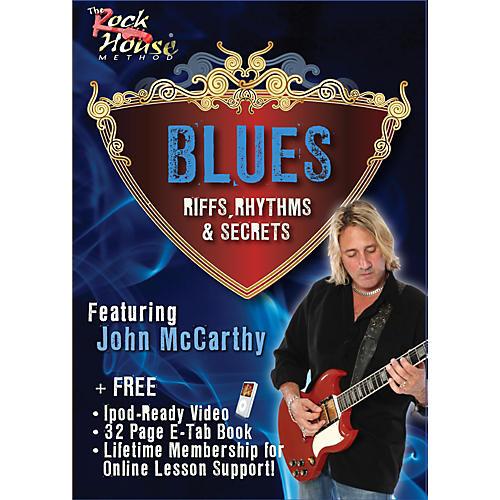 Hal Leonard Blues - Riffs, Rhythms, and Secrets DVD