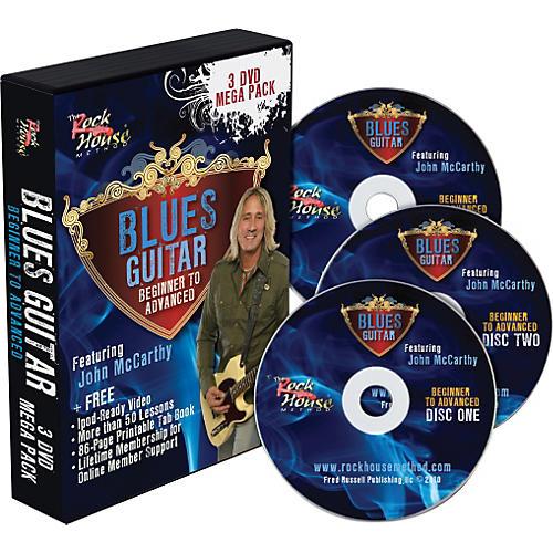 Rock House Blues 3 DVD Mega Pack