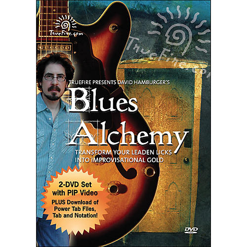 Hal Leonard Blues Alchemy - Instructional Guitar 2-DVD Pack Featuring David Hamburger