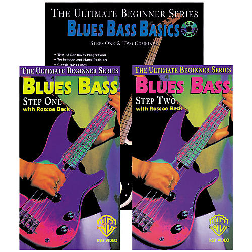 Alfred Blues Bass Basics Mega Pak Book/CD/Video