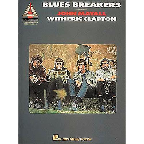 Hal Leonard Blues Breakers John Mayall with Eric Clapton Guitar Tab Songbook