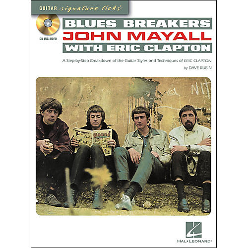 Hal Leonard Blues Breakers With John Mayall & Eric Clapton - Guitar Signature Licks Book/CD