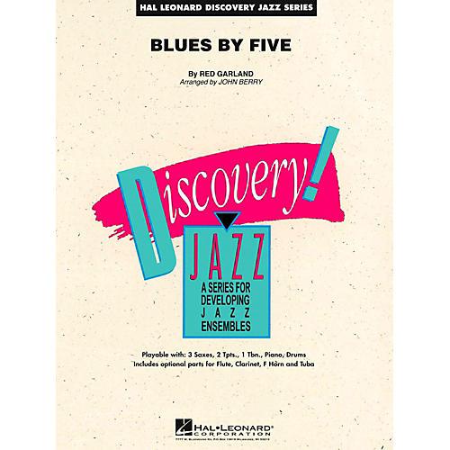 Hal Leonard Blues By Five Jazz Band Level 2