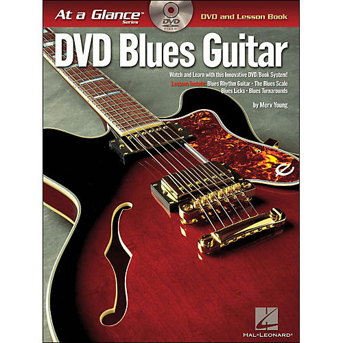 Hal Leonard Blues Guitar At A Glance Book/DVD